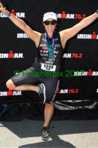 santa rosa half ironman finisher pic